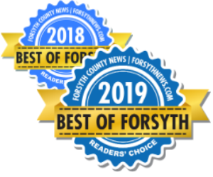 Voted Best in Forsyth County